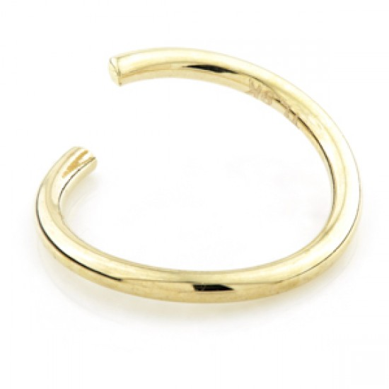 TISH LYON® - BCR Style Seamless Twist Ring