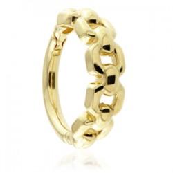 TISH LYON® - Chain Link Hinge Ring