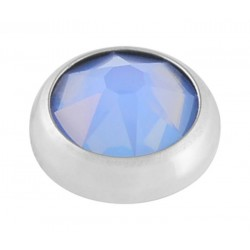 Air Blue Swarovski Crystal Opal