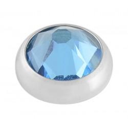 Aqua Swarovski Crystal