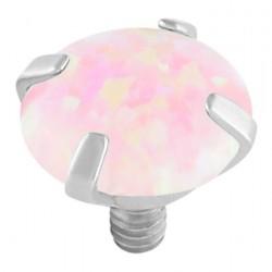 Angel Skin Opal Claw Set Attachment