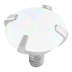 White Opal Claw Set Attachment