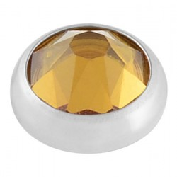 Topaz Swarovski Crystal